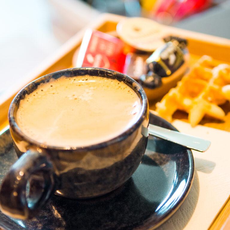 tas koffie versnaperingen