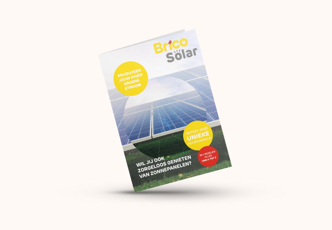 Voorzijde Folder Brico Solar