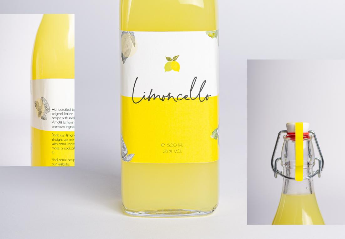 Detail foto etiket Lemonzest