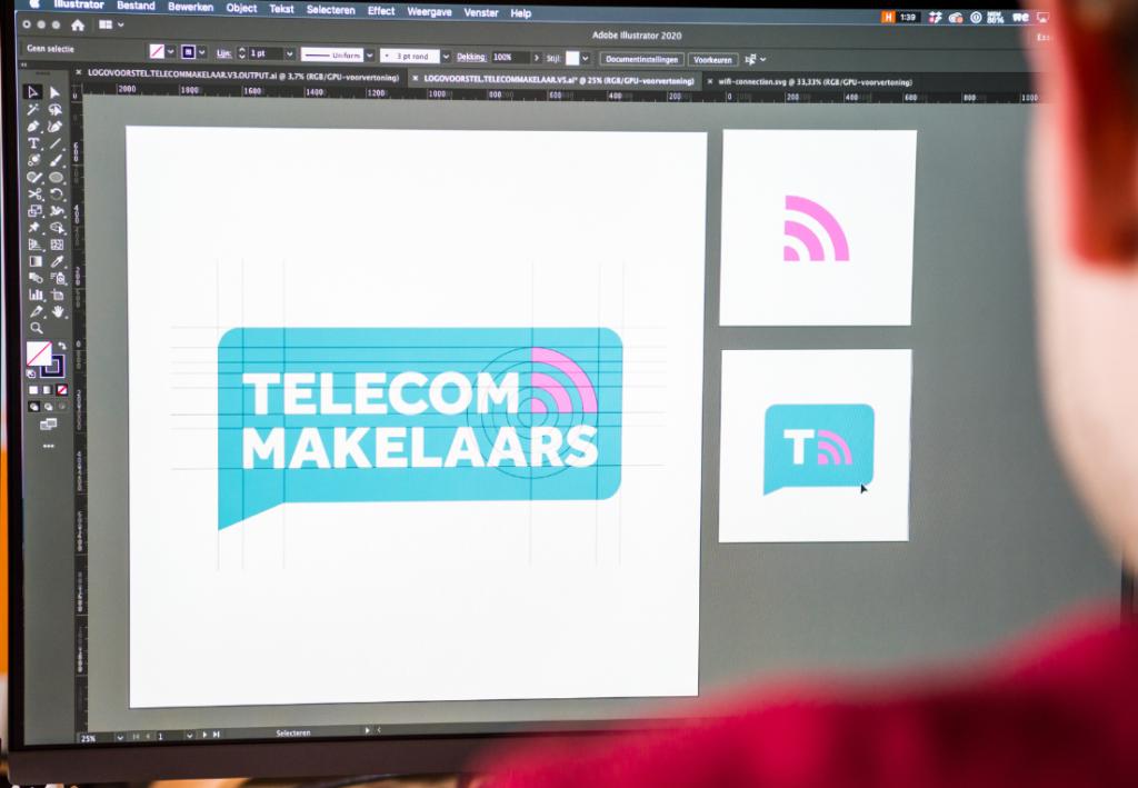 Detail foto logo Telecommakelaars