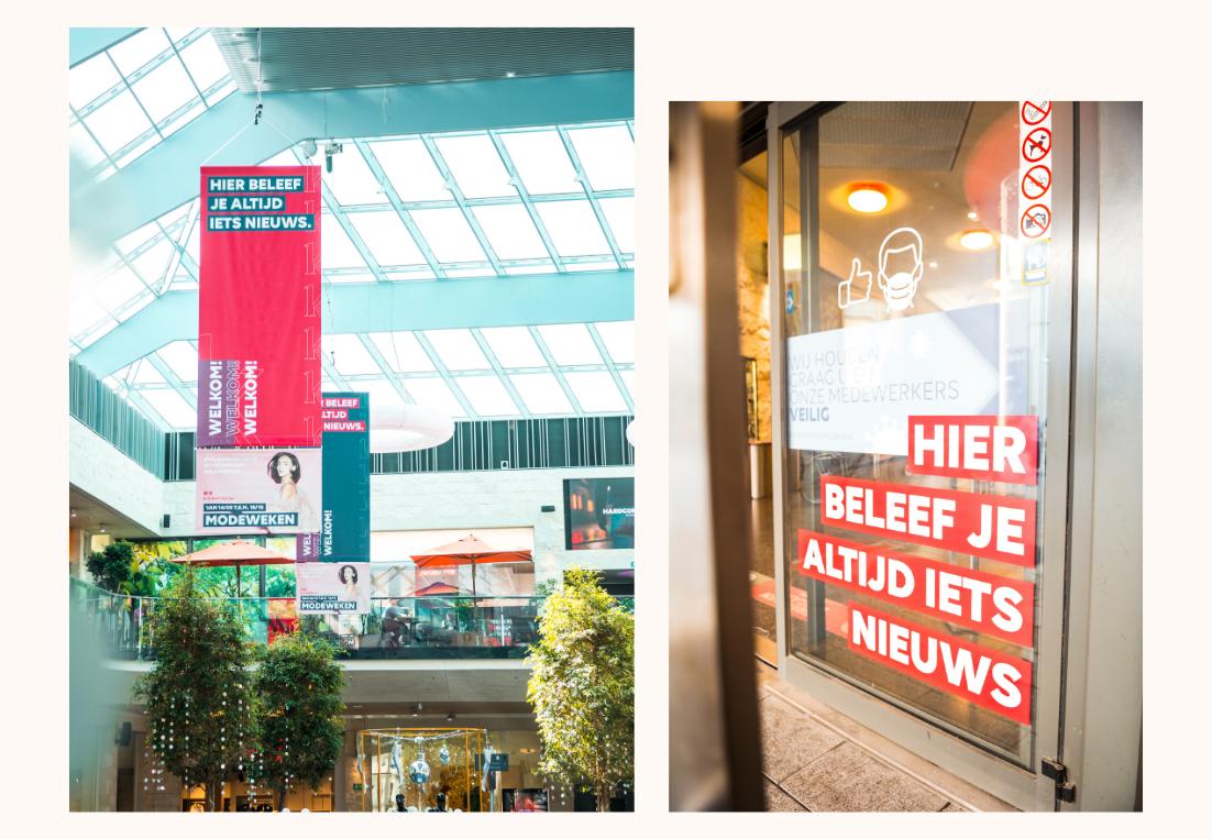 Detail foto's grafisch ontwerp K in Kortrijk