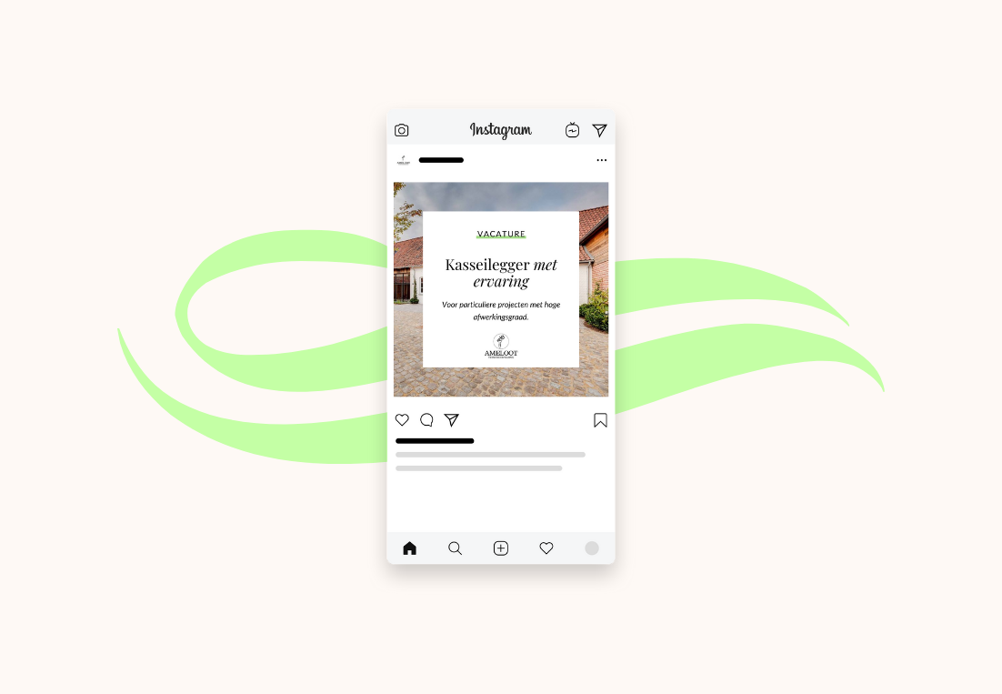 Tuinonderneming Ameloot post Instagram