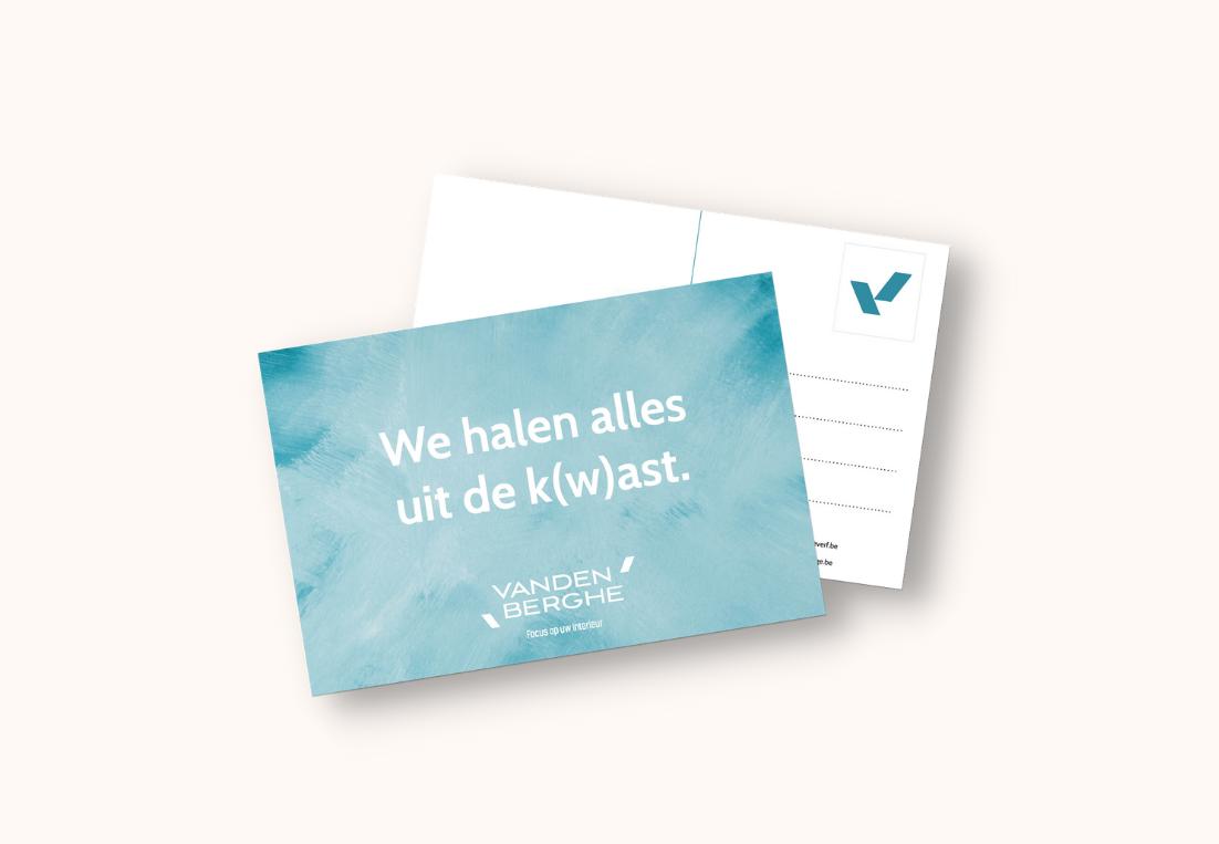 Vandenberghe Verf Facebook postkaart