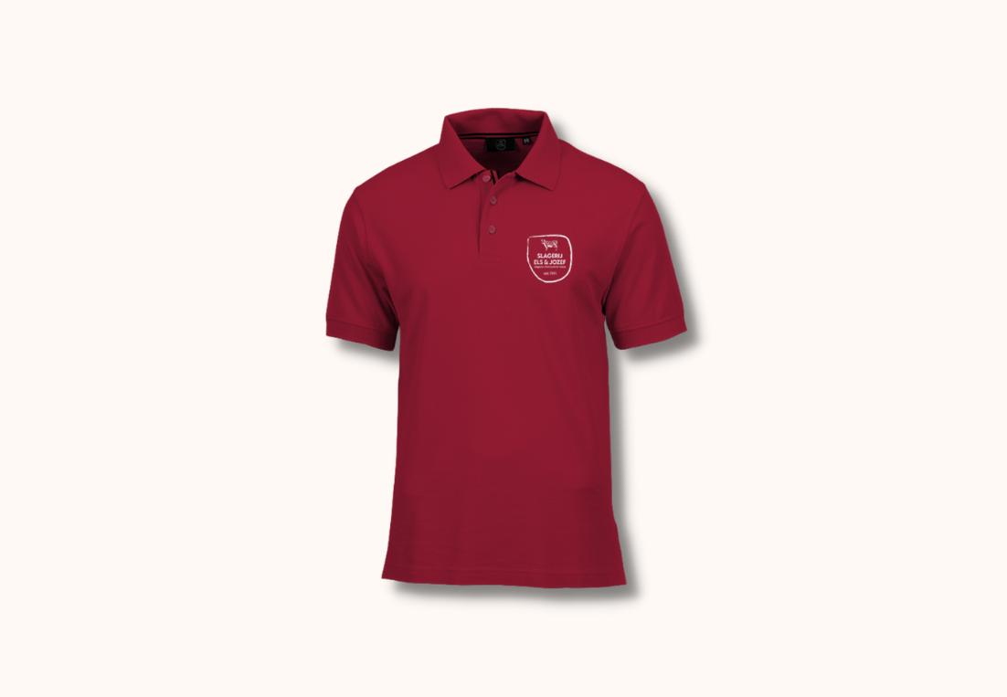 Polo's met logo Slagerij Els & Jozef