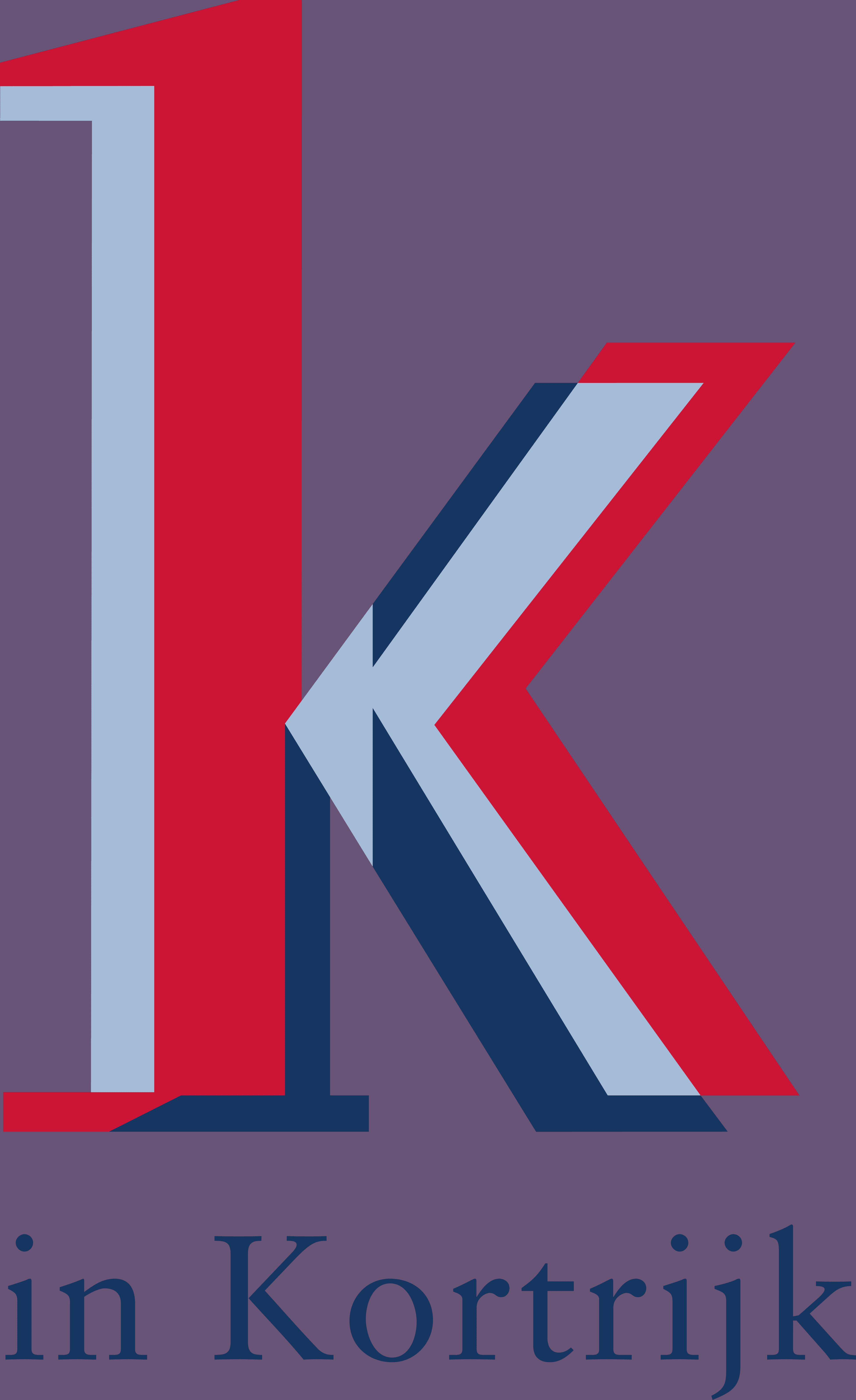 logo K in Kortrijk